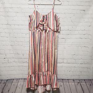Maison Jules Citrus Splash Dress Sz 4 Cand…
